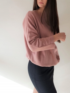 Sweter Pink  Oversize